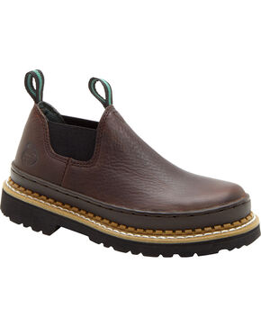 Georgia Boys' Little Giant Romeo Casual Shoes, Brown, hi-res