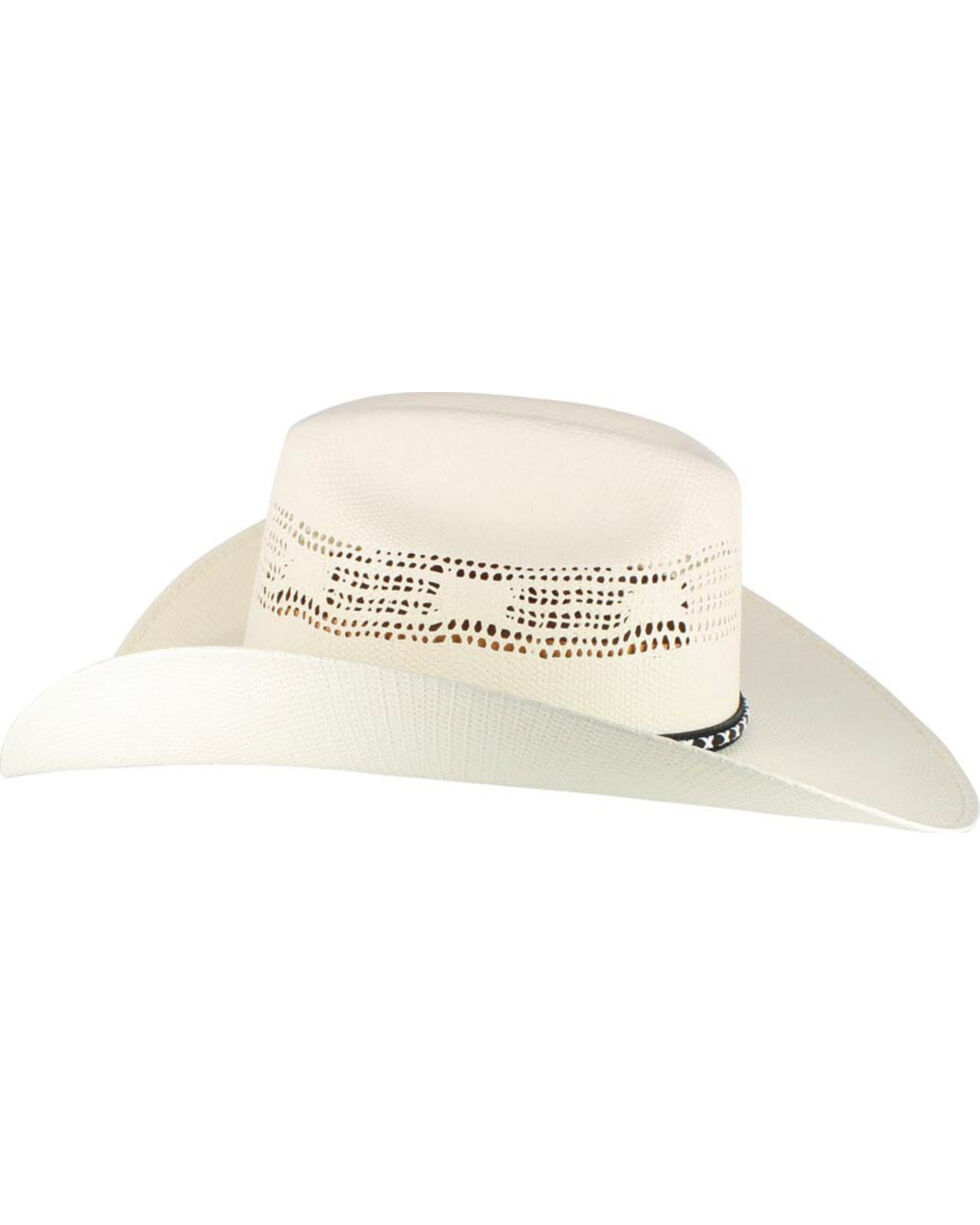 Cody James® Men's Bangora Straw Cowboy Hat, Natural, hi-res