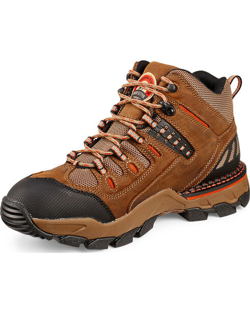 Red Wing-Two Harbors Hiker Work Boots, Brown, hi-res
