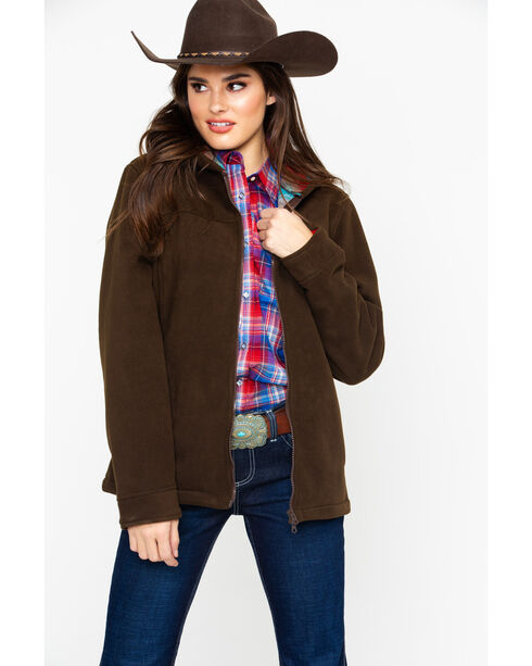Outback Trading Co. Women's Brown Mt. Rocky Jacket , Brown, hi-res