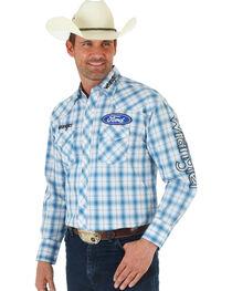 Wrangler Men's Ford Logo Long Sleeve Shirt, , hi-res