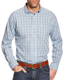 Ariat Men's Zeke Wrinkle Free Long Sleeve Shirt, , hi-res