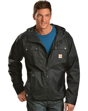 Carhartt Rockford Nylon Jacket, Black, hi-res