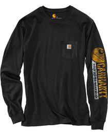 Carhartt Graphic Logo Long Sleeve Shirt, , hi-res