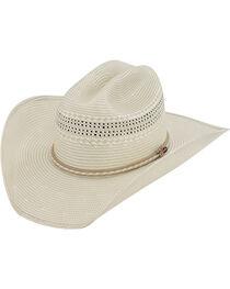 Justin 50X Sunderland Straw Cowboy Hat, , hi-res