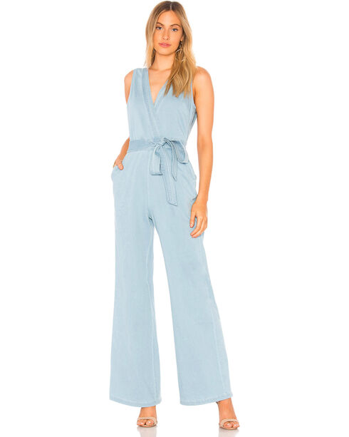 Jack Women's Suko Stretch Chambray Jumpsuit, Blue, hi-res