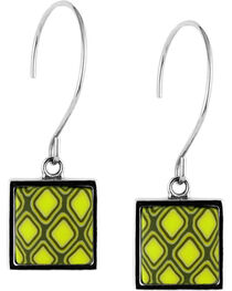 Jilzarah Santa Fe Square Hoop Earrings, , hi-res