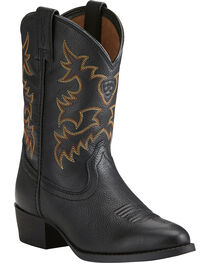 Ariat Boys' Heritage Western Cowboy Boots - Round Toe, , hi-res