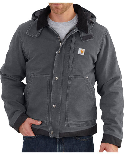 Carhartt Men's Full Swing Cadwell Jacket, Shadow Black, hi-res
