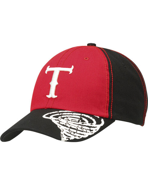Twister Red Logo Ballcap, Red, hi-res