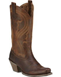 Ariat Women's Lively Western Fashion Boots, , hi-res