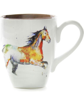 Big Sky Carvers Running Horse Mug, Multi, hi-res