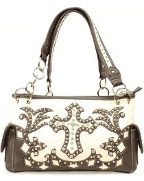 Blazin Roxx Bedecked Fancy Cross Satchel Bag, , hi-res