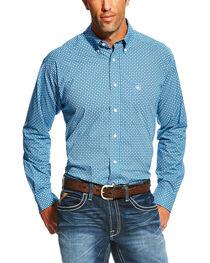 Ariat Men's Fraiser Long Sleeve Button Down Shirt - Big , , hi-res