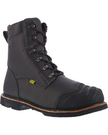 "Iron Age Men's 8"" Thermos Shield Work Boots , , hi-res"