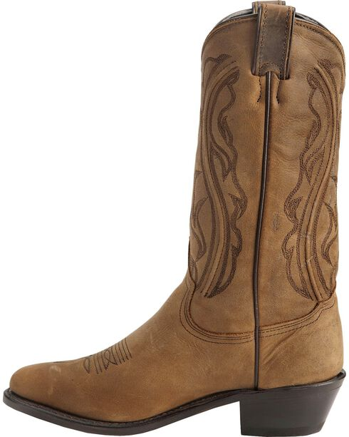 "Sage Boots by Abilene Women's 11"" Longhorn Western Boots, Distressed, hi-res"