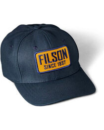 Filson Men's Embroidered Patch Logger Cap, , hi-res