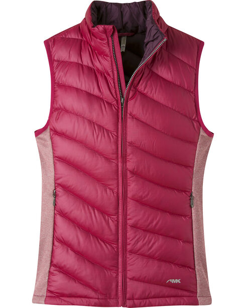 Mountain Khakis Women's Shout Down Vest, Burgundy, hi-res