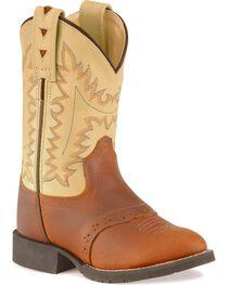 Jama Children's Comfort Wear Western Boots, , hi-res