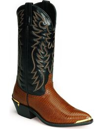 Laredo Men's Atlanta Lizard Print Western Boots, , hi-res