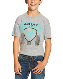 Ariat Boys' Stars and Stripes Tee, , hi-res