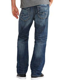 Silver Jeans Men's Zac Relaxed Fit Straight Leg Jeans, , hi-res
