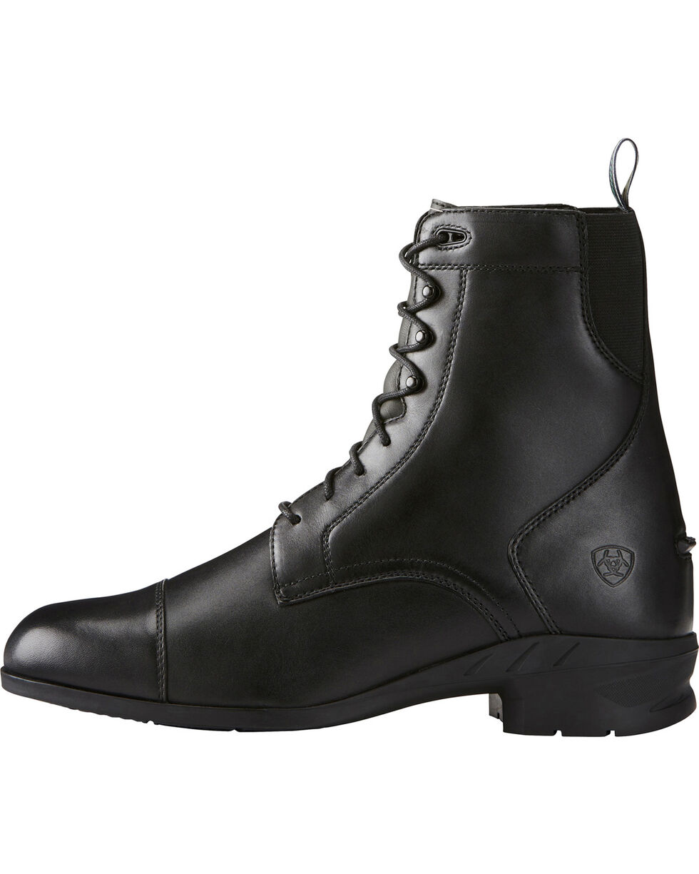Ariat Men's Heritage IV Zip Paddock Boots, Black, hi-res