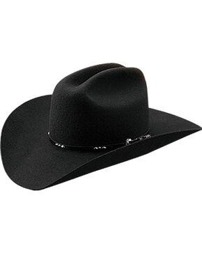 Master Hatters La Mesa 2X Black Wool Cowboy Hat, Black, hi-res
