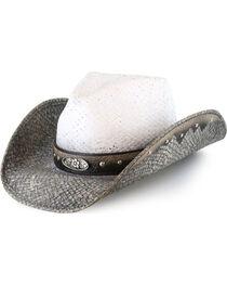 Bullhide Women's Full of Dreams Straw Hat, , hi-res