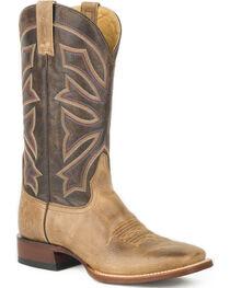 Stetson Men's Brown Gunsmoke Western Boots - Square Toe , , hi-res