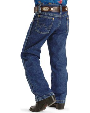 George Strait by Wrangler Boy's Jeans Size 1-7, Denim, hi-res