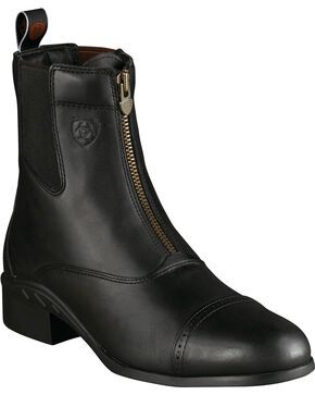 Ariat Men's Heritage III Zip Paddock Boots, Black, hi-res