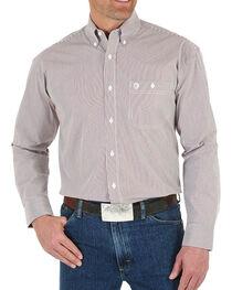 Wrangler Men's Button Down Long Sleeve Shirt, , hi-res