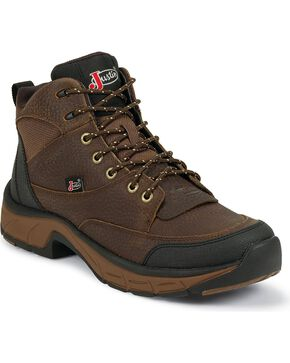 Justin Women's Stampede Casual Work Boots, Copper, hi-res
