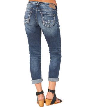 Silver Women's Sam Boyfriend Jeans, Indigo, hi-res