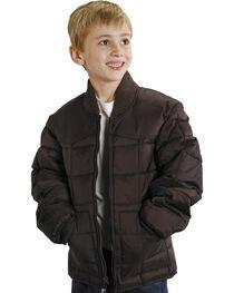Roper Boys' Range Gear Quilted Nylon Jacket, , hi-res