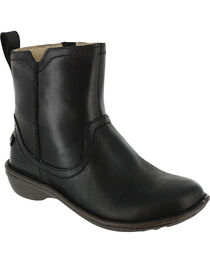 UGG Women's Black Neevah Short Boots - Round Toe , , hi-res