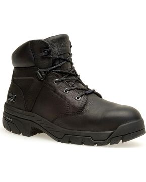Timberland Pro Men's Helix Waterproof Composite Toe Boots, Black, hi-res