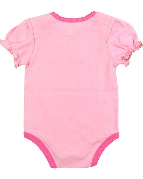 John Deere Infant Girls' Rodeo Onesie, Pink, hi-res