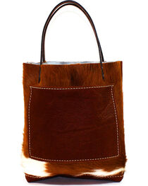 SouthLife Supply Women's Cowhide Small Unstructured Tote, , hi-res