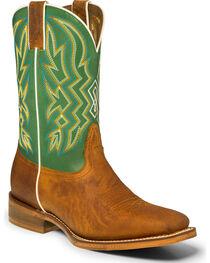 """Nocona Men's 11"""" Square Toe Western Boots, , hi-res"""