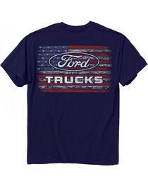 Buck Wear Men's Barbed Flag Ford T-Shirt, , hi-res