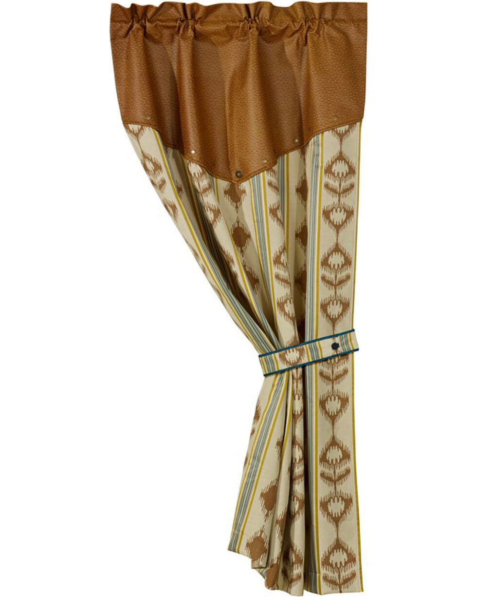 """HiEnd Accents Alamosa Collection 48"""" X 84"""" Curtain, Multi, hi-res"""