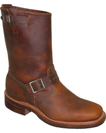 """Sage by Abilene Men's 11"""" Engineer Boots - Square Toe, , hi-res"""