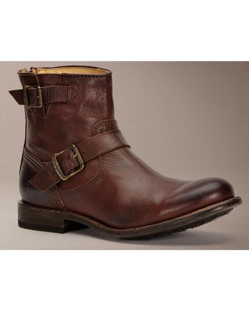 Frye Tyler Engineer Boots, Dark Brown, hi-res