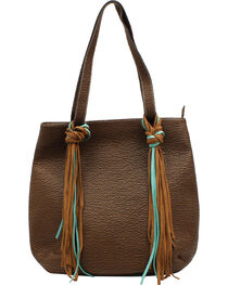 Blazin Roxx Jolie Collection Fringe Tote, , hi-res
