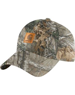 Carhartt Men's Realtree Camo Work Hat, Camouflage, hi-res