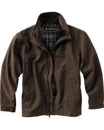 Dri Duck Men's Maverick Work Jacket - Tall Sizes (XLT - 2XLT), Brown, hi-res
