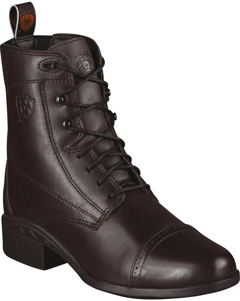 Ariat Women's Heritage III Paddock Boots, Chocolate, hi-res