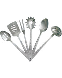 Moss Brothers 6-Piece Brands Stainless Steel Serving Set  , , hi-res
